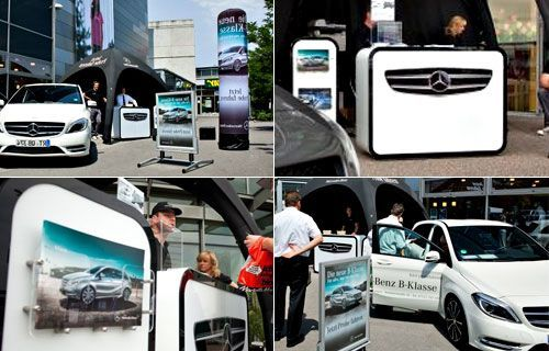 "Mercedes-Benz is ""driving crazy"" with Display-Max!"