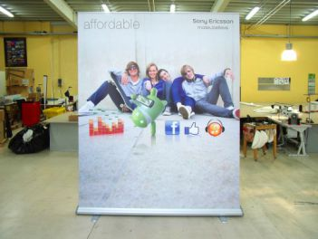 Rollup Banner Mega High for Sony Ericsson