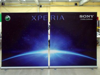 Rollup Banner Mega High for Sony Xperia
