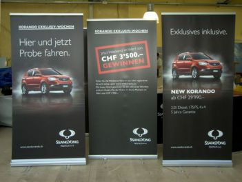 Rollup Banner Classic for Ssang Yong