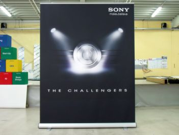 Rollup Banner Mega High for Sony