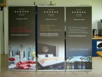 Rollup Banner Classic for Kameha