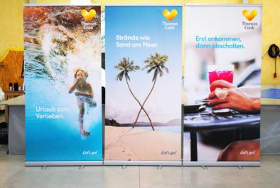 Rollup Banner Classic for Thomas Cook