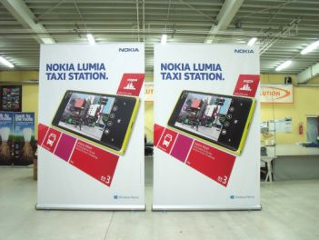 Rollup Banner Mega High for Nokia