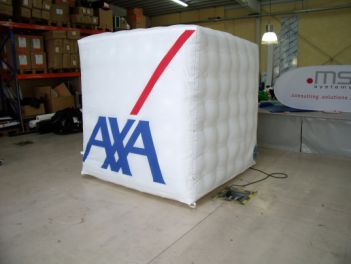 Werbecube 2x2x2 Meter for AXA