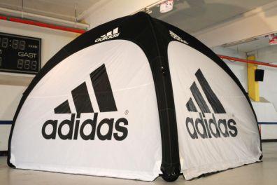Pneumatisches Zelt for Adidas & Inflatable Tents