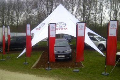 Startent for Toyota